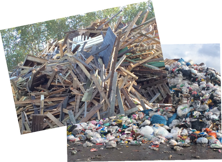 Waste collage Pic cred MarEdo